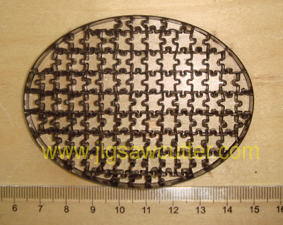 tiny oval shape puzzle dies